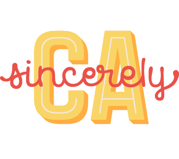 Sincerely CA logo